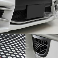 "5_Black Honeycomb Hexagon Mesh ABS Grille Fog Custom Kit 43""x15"" for CADILLAC"