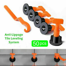 50Pcs/Pack Reusable Anti-Lippage Tile Leveling System Positioning T-lock Tools