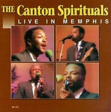 Canton Spirituals - Live In Memphis - New Factory Sealed CD