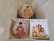 VILLEROY & BOCH ASSIETTE PORCELAINE UNICEF ENFANTS D'UN MONDE JAPON numéro 8