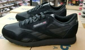 REEBOK CLASSIC NYLON MEN'S BLACK/BLACK/CARBON  BD5993