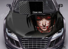 Manga Hood Full Color Graphics Adhesive Vinyl Sticker Wrap Decal Fit any Car 101
