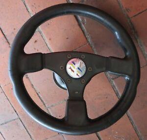 VW Golf 2 Toledo Sports Steering Wheel Raid HP 16 Victor 30cm KBA70172 Hub