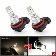 2X H8 H9 H11 Led Headlight Super Bright Bulbs Kit 4000Lm 40W High/Low Beam 6000K