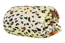 Tiger Doppel- Luxus Fleece Decke Luxus Weich Warm Home Sofa Bett Überwurf