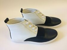 Sam Edelman Women's Paulette High Top Sneakers White Navy Size 8 M
