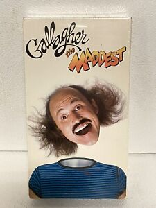 Gallagher-The Maddest-VHS Stand Up Comedy Brand new