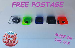 Magnetic Frag rack, 2 x single rack*NEW ACRYLIC FRAG RACK* Zoa,coral frag plug.