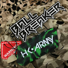 New Hk Army Ball Breaker 2.0 Barrel Cover Sock Plug Condom - Mint (Black/Green)