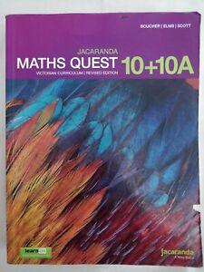 Jacaranda Maths Quest 10 + 10 A Victorian Curriculum (revised)