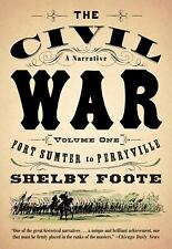 The Civil War - A Narrative Vol. 1 : Fort Sumter to Perryville  (ExLib)
