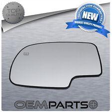 New Driver Side Mirror Heated Glass Fits Sierra Silverado Yukon Escalade Tahoe