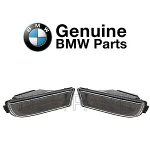 For BMW E38 7-Series Pair Set of Front Left & Right Fog Lights Genuine
