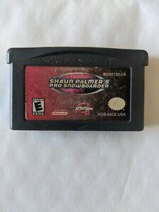 Shaun Palmers Pro Snowboarder Game Boy Advance - Aussie Seller - Free Postage