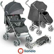 Buggy klappbar Lionelo Irma Grey Reisebuggy Kinderwagen Leichtgewicht