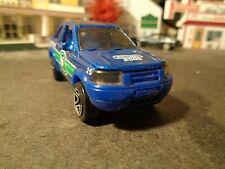 MATCHBOX  1999 LAND ROVER FREELANDER,  BLUE     1:64 SCALE DIE-CAST  5-4-13