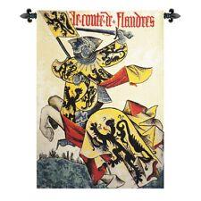 "Comte De Flandre European Tapestry Wall Hanging H 38"" x W 26"""
