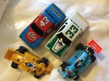 Vintage Lot Tyco STP Esmark #20 Petty 43 33 Slot Cars