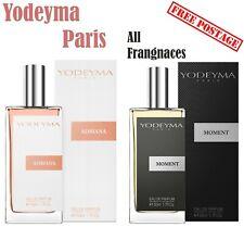 PROFUMO Yodeyma Paris Eau De Parfum Uomini Donne AUTENTICHE TUTTE LE FRAGRANZE 50ml