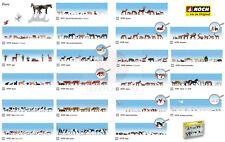 Noch H0 1:87 animales caza figuras modelismo ferroviario maqueta escala diorama