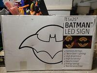 Batman Logo Symbol Electric LED Hanging Light 1 Per Retailer Diamond Exclusive