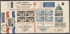 SPECIAL COVER ENGELAND-AUSTRALIA DOUGLAS FLIGHT PH-AJU UIVER 20.OCT.1934   Za940