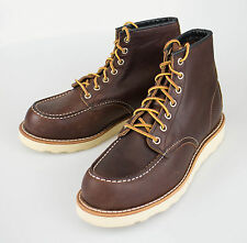 NIB RED WING 8138 Classic Moc Brown Leather Ankle Boots Shoes 12 US 11 EU $270
