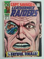 Captain Savage and his Leatherneck Raiders (1967) #4 - Good