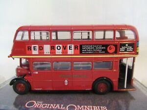 CORGI OOC RTW DOUBLE DECK BUS - LONDON TRANSPORT SCALE 1:76 OM41701