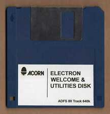 ACORN ELECTRON 3.5 Benvenuto & utilities FLOPPY DISK-ADATTATORE 80 TRACK Versione