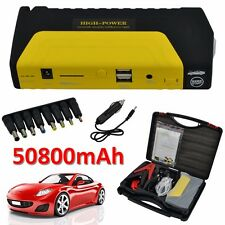 50800mAh Power Bank Car Jump Starter Pack Portable Booster Charger Battery UK