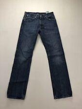 LEVI'S 506 Straight Jeans - W30 L34 - Navy - Good Condition - Men's