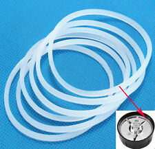 2X New  Replacement Gaskets Rubber Seal Ring For Magic Bullet Flat Cross Blade S