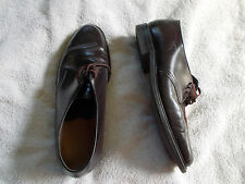 Mason Plain Toe Oxford 9 1/2 EE Leather Eez Good Year Sole Leather Upper Brown
