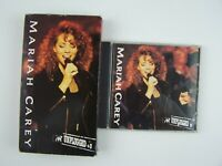 Mariah Carey MTV Unplugged VHS & CD Combo Lot