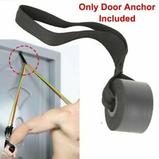 Exercise Yoga Over Door Anchor Fitness Resistance Bands Elastic Band Tube Home