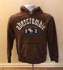 Abercrombie Hoodie Boys Size Large Sweatshirt Jacket Moose Pullover Casual