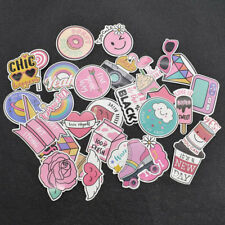 Pink Cartoon Cute Laptop Stickers for Children Room Card Toys Cars Phone Bicycle