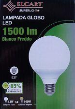 GLOBO A LED ELCART 12WATT E27 BIANCO FREDDO