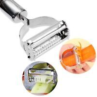 Stainless Steel Potato Peeler Carrot Grater Julienne Fruit Vegetable Cutter Tool