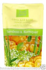 Bath SALT Bamboo & Kumquat Chinese Delight 200g Fresh Juice 6434
