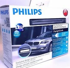 Philips Day Light Guide DRL LED Daytime running lights Set 12825WLEDX1 6000K 12V