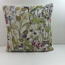 """Voyage Hedgerow Linen Cushion Covers 17.1/2"""" x 17 1/2"""" Stunning Fabric"""