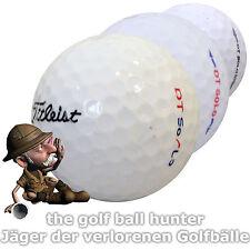 36 weiße Titleist DT Solo gebrauchte Golfbälle - Lakeballs AAA - AA T-11