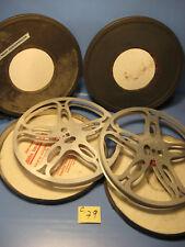 16 mm  Film 2 Stück 300 Meter Filmspulen Metallspulen in Filmblechdosen.C.79
