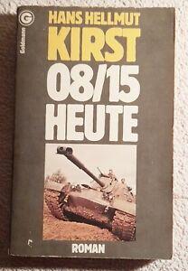Hans Hellmut Kirst 08/15 Heute Roman Verlag Goldmann Buch Made in Germany 1963