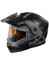 Castle X EXO CX950 Focus Snow Modular Helmet Matte Black Gray XL 8b14bee362ad