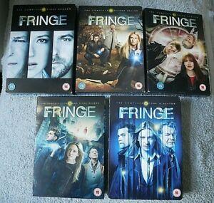 FRINGE SEASONS 1-5 COMPLETE EVERY SEASON & EPISODE - DVD UK FREEPOST