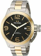 TW STEEL Canteen 50mm Two-tone Gents Watch CB42 - RRP £349 - BRAND NEW