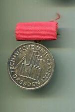 Medaille  Technische Universität Dresden   Für hervorragende Leistungen in Silbe